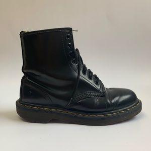 Vintage 90s black Dr Martens boots made in England